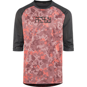 IXS Vibe 8.1 Jersey Men red-camo